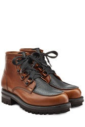 Dsquared2 Leather Boots Brown