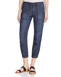 Sanctuary Peace Trooper Cropped Cargo Jeans Sakiko Wash