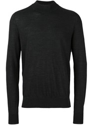 Maison Martin Margiela Ribbed Crew Neck Sweater Grey