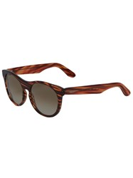 L.G.R Rounded Sunglasses Brown