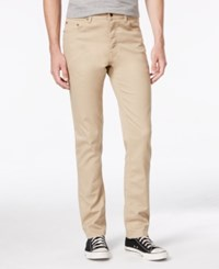 American Rag Men's Slim Fit Stretch Jeans Only At Macy's Beige Light