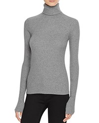 J Brand Centro Mock Neck Sweater Charcoal