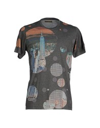 Amaranto Topwear T Shirts Men Grey