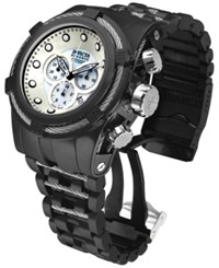 Invicta Men's Swiss Chronograph Bolt Zeus Black Ion Plated Stainless Steel Bracelet Watch 53Mm 12752