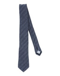 Hardy Amies Ties Slate Blue