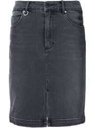 Neuw Denim Skirt Black