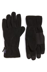 Men's Patagonia Synchilla Fleece Gloves Black