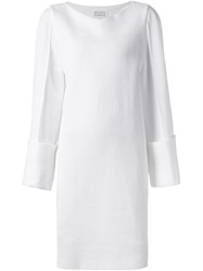 Maison Martin Margiela Maison Margiela Bell Sleeve Shift Dress White