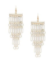 Ettika Chandelier Earrings Gold
