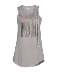 Scee By Twin Set Tops Light Grey