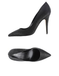 Martin Clay Pumps Black