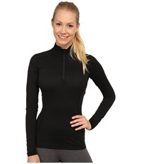 Arc'teryx Phase Sl Zip Neck L S Black Women's Clothing