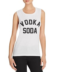 Private Party Vodka Soda Tank White Black