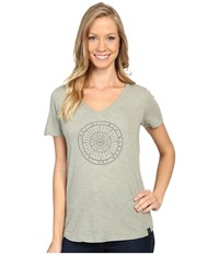 United By Blue Wander Compass Sage Women's Clothing Green