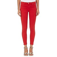 J Brand Women's 9227 Low Rise Ankle Crop Jeans Red