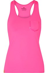 Monreal London Essential Stretch Jersey Tank Bright Pink