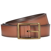 John Lewis Reversible Leather Belt Brown Tan