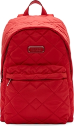 Marc By Marc Jacobs Red Quilted Backpack