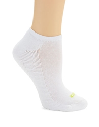 Hue Six Pack Massaging Liner Socks