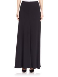 The Row Frol Maxi Skirt Black Alabaster