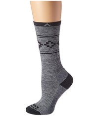 Wigwam Copper Canyon Pro Grey Women's Crew Cut Socks Shoes Gray