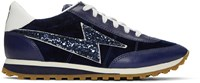 Marc Jacobs Navy Astor Jogger Sneakers