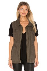 Velvet By Graham And Spencer Waylin Vest Olive