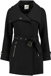 Joie Roark Wool Blend Coat Black