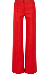 Christophe Lemaire Wool Flared Pants