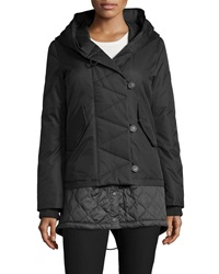 Spiewak Eclipse Loop Button Hooded Parka Caviar