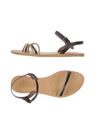 N.D.C. Made By Hand Footwear Sandals Women Dark Brown
