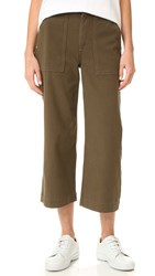 Rag And Bone Denny Crop Pants Army