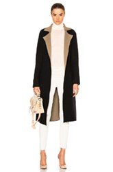 Atm Anthony Thomas Melillo Reversible Felt Wrap Coat In Black