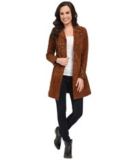 Scully Sequence Long Jacket Brown Women's Coat