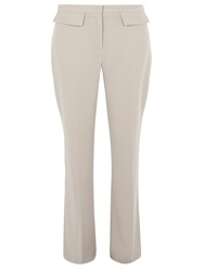 Dorothy Perkins Patch Pocket Flared Trousers Grey