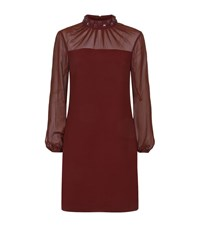 Ted Baker Cacey Beaded Neck Dress Female Red