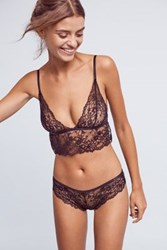 Anthropologie Natori Belle De Jour Briefs Black