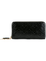 See By Chloe Big Bisou Embossed Wallet Black