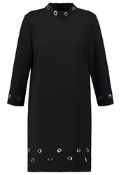 Derhy Geranium Summer Dress Noir Black