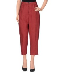 Barena Trousers 3 4 Length Trousers Women