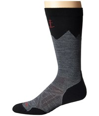 Smartwool Phd Outdoor Mountaineer Medium Gray Men's Knee High Socks Shoes White
