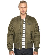 Members Only Authentic Military Bomber Jacket Green Men's Coat