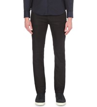 Armani Collezioni Regular Fit Tapered Jeans Dk Navy