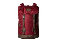 Burton Tinder Pack Quilted Zinfandel Backpack Bags Red