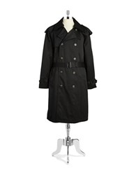 Lauren Ralph Lauren Zip Out Lining Trenchcoat Black