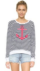 Sundry Anchor Sweatshirt White