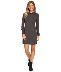 The North Face Empower Hooded Dress Graphite Grey Women's Dress Gray