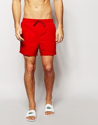 Selected Swim Shorts Red