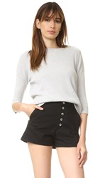 Frame Le Boxy Sweater Foggy