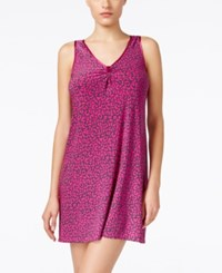 Alfani Satin Trimmed Short Nightgown Only At Macy's Exotic Leo